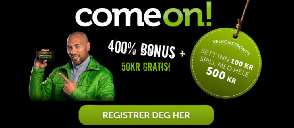 ComeOn.com Online Casino Norge
