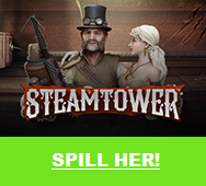 Steamtower spilleautomat videoautomat