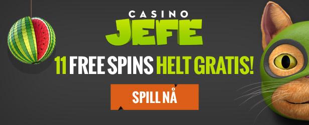 casino jefe freespina uten omsetningskrav - Casinojefe.com gratis spinn uten omsetningskrav