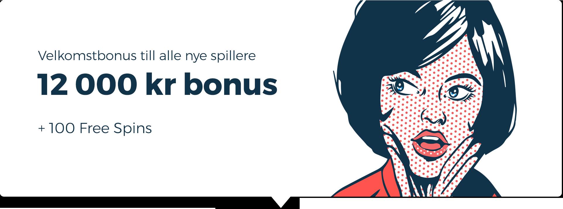 casinopop velkomstbonus norge