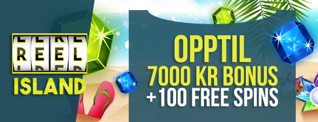 ReelIsland casino bonus og free spins