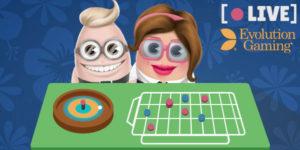 evolution gaming cashmio live casino på nett