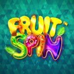 Netent logoen til fruit spin spilleautomaten