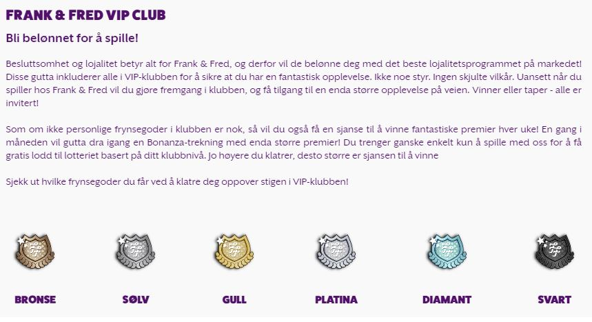 frankfred program casino