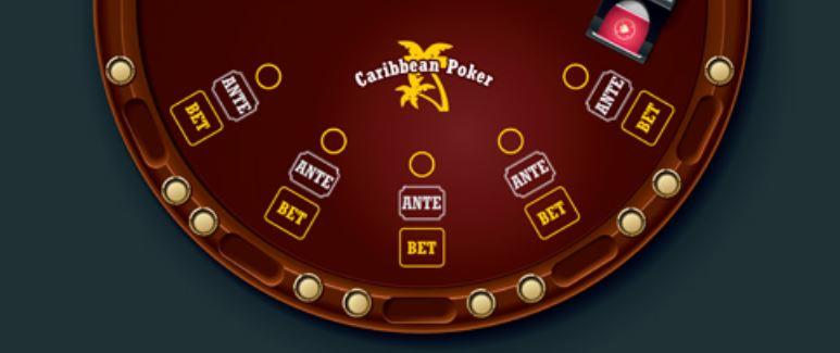 kortspill caribbean stud poker
