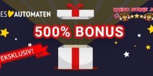 500% eks. bonus